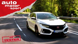 Honda Civic Type R: Alles Andere Als Langweilig - Test/Review   Auto Motor Und Sport