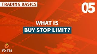 What is Buy Stop Limit?