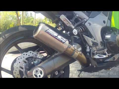 Kawasaki Z1000SX | Ninja 1000 custom SC Project CRT exhaust
