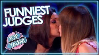 FUNNIEST Judge Moments on Britain's Got Talent! | Top Talent