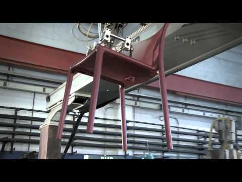 Video of the production process of Magis Air Chair