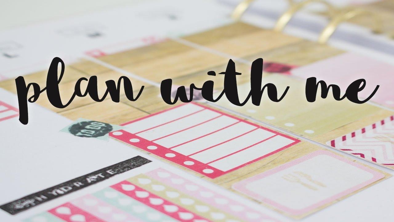 Decoración de agenda | Plan with me | Week 16/2017