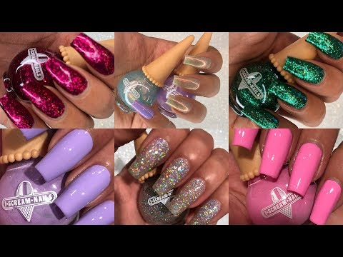 I SCREAM NAILS Nail Polish Review + Swatches