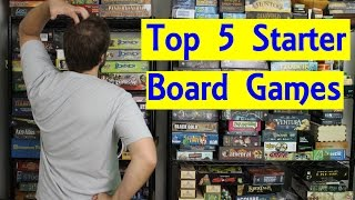 Top 5 Starter Board Games