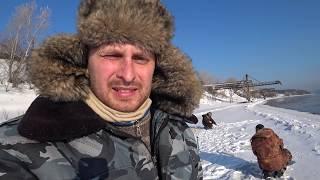Ловля хариуса на енисее в красноярске зимой