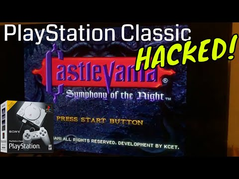 PlayStation Classic HACKED! Add More Games! (видео)
