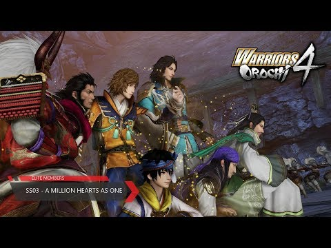 Warriors Orochi 4 - (SS-03) - A Million Hearts as One (Chaotic Difficulty)