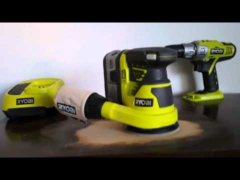 Ryobi Random Orbit Sander  full review