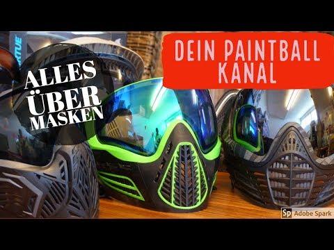 Alles über Paintball Masken! Warum teuer auch gut ist und warum ganz billig gar nicht gut ist.