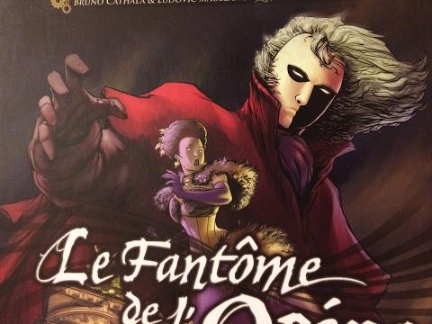 Играем в настольную игру Призрак Оперы (Le Fantome de l`Opera)