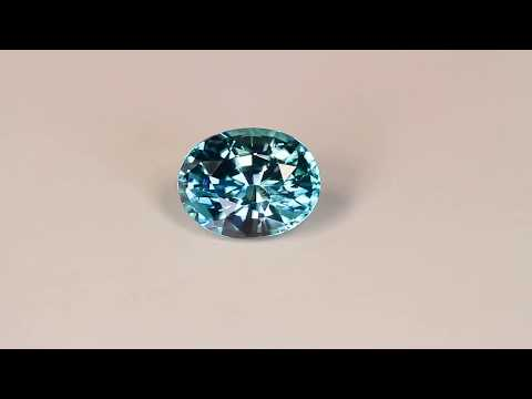 Blue Zircon Oval 2.80 carats ( Call for availability)