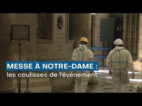 Messe à Notre-Dame : les coulisses d'un évènement mondial