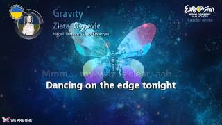 "Zlata Ognevich - ""Gravity"" (Ukraine) - Karaoke version"