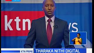 Tharaka Nithi Governor Muthomi Njuki launches a digital system of revenue collection