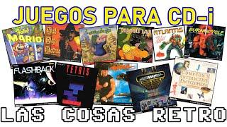 JUEGOS de PHILIPS CD-i 🎮 FMV, Hotel Mario, Myst, Lemmings