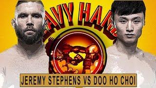 Doo Ho Choi vs Jeremy Stephens preview (Heavy Hands #193)