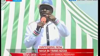 NASA in Sibanga, Trans Nzoia :  Raila Odinga's full speech