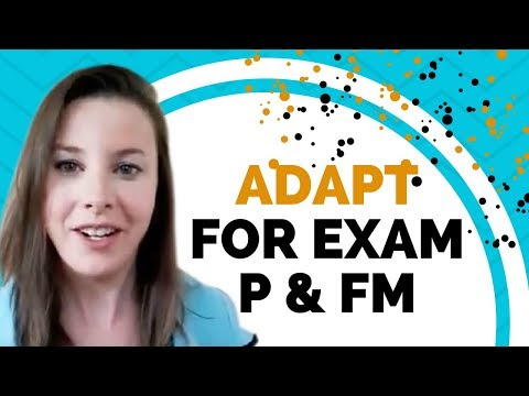 ADAPT for Exam P & FM.. What is it? And should you get it? - YouTube