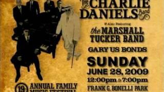 CHARLIE DANIELS BAND HEADLINES FAMILY MUSIC FESTIVAL AT BONELLI PARK