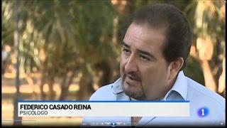 Federico Casado Reina como Psicólogo en Informativos TVE - 22/07/2015 - Federico Casado Reina
