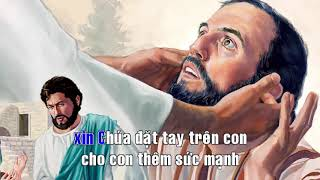 XIN CHÚA ĐẶT TAY ( KARAOKE BEAT )