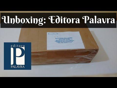 Unboxing - Editora Palavra - Melhores Livros!