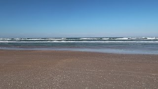 A Cold & Windy Day At A Florida Beach!