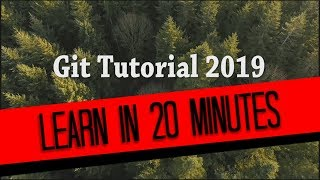 GitHub Tutorial 2019 | Learn Git In 20 minutes, Now.