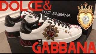 UNBOXING Dolce & Gabbana - Limited Edition -  Mens Sneakers