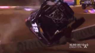 Corry Weller Crash Lucas Oil Off Road Glen Helen 2014