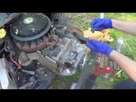 Ariens zero turn mower Part 2
