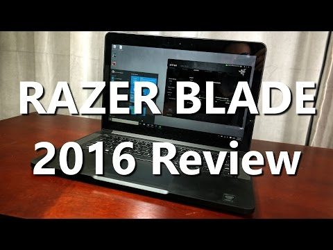 Review: Using a Razer Blade 2016 Gaming Laptop for Video Editing