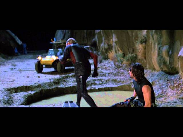 Escape from L.A. - Surfing Scene