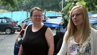 Hele Autoškola Ingrid před a po jízdě s komisařem