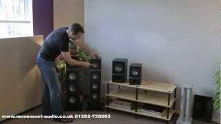 KEF Q100, Q300, Q500 & Q700 Loudspeaker Review by Movement Audio (Poole & Salisbury)