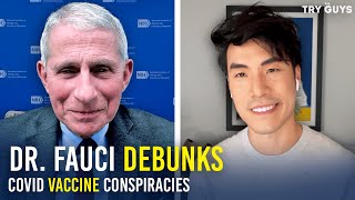 Try Guys Debunk COVID Vaccine Conspiracies With Dr. Fauci