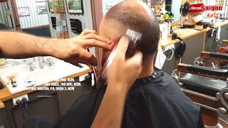 Fade with wahl legend clipper