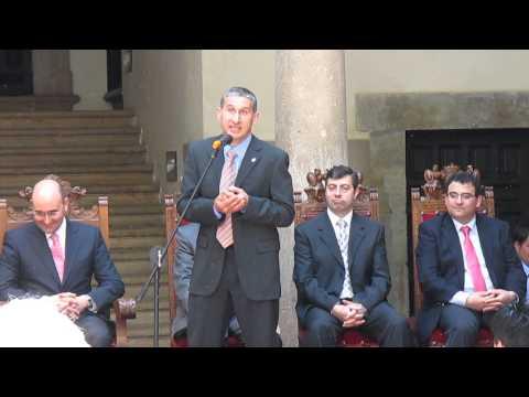 Homenaje a Alberto Blanco en mayo pasado.