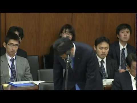 H24.3.7 衆議院内閣委員会 平将明VS岡田克也 初対決