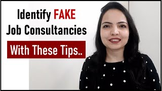 How to know if its fake job consultancy | Fraud Consultancies