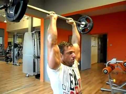 Wszystkie rodzaje pull-up na pasku i grupą mięśni, które biorą udział w nich