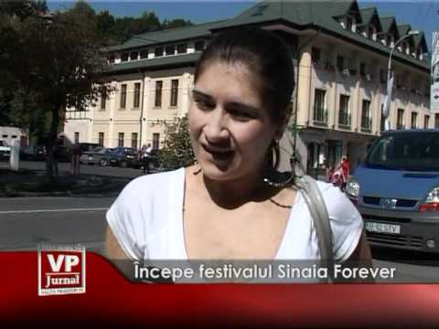 Începe festivalul Sinaia Forever