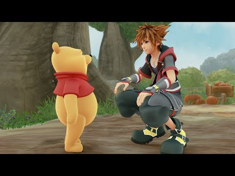 KINGDOM HEARTS III – Winnie the Pooh Trailer (Closed Captions) thumbnail