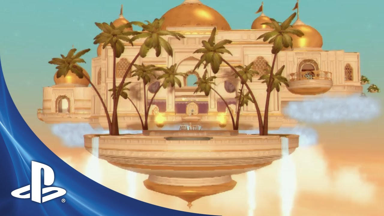 PlayStation Home Update: Palace of the Seven Winds Blows into Town, New Avatar Locomotion