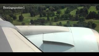 preview picture of video 'Air Canada Boeing 767-300 landing in Ottawa - CYOW'