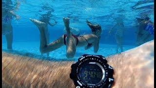 Тест Водонепроницаемости. Эти СМАРТ ЧАСЫ Работают Год Без Зарядки! Smart Watch Colmi VS505