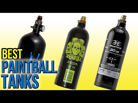 7 Best Paintball Tanks 2016