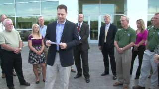 Ribbon Cutting for Covington Ford - LEED Certification Facility