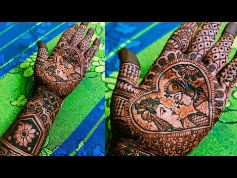 bridal wedding mehndi desogn by geetha mehndi & rangoli arts