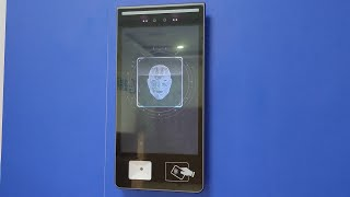 10.1 inch touch screen face recognition access control system youtube video